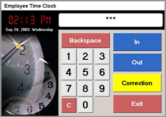 Employee Time Clock Free Restaurant Pos Software
