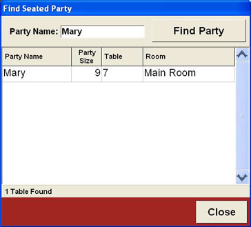 Table and Guest Management - Free Restaurant POS Software